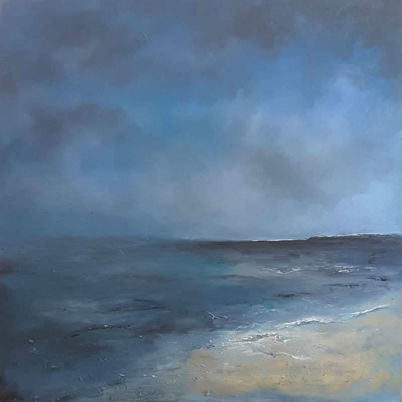 (CreativeWork) Solitude by Victoria Easby. Oil Paint. Shop online at Bluethumb.