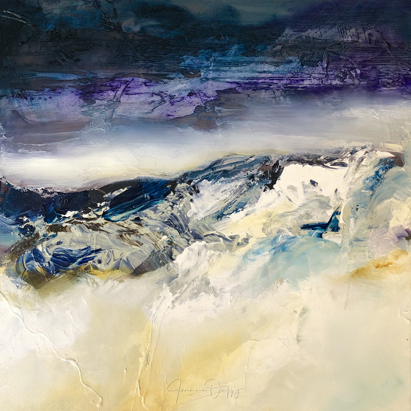 (CreativeWork) Night Dune by Joanne Duffy by Joanne Duffy. Oil Paint. Shop online at Bluethumb.