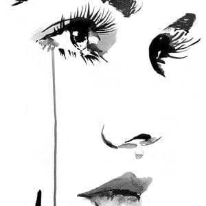 (CreativeWork) FUNDAMENTALLY SPEAKING by loui jover. drawing. Shop online at Bluethumb.