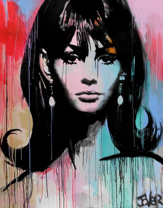 (CreativeWork) UNIVERSAL by loui jover. Acrylic Paint. Shop online at Bluethumb.