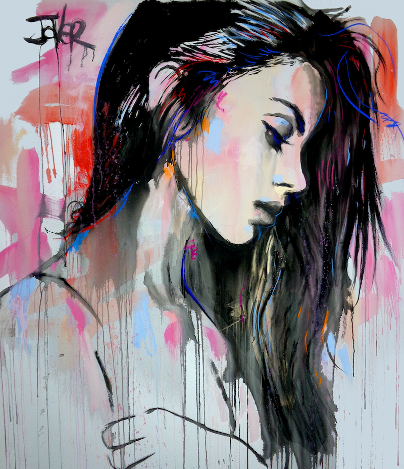 (CreativeWork) UNIVERSAL by loui jover. acrylic-painting. Shop online at Bluethumb.