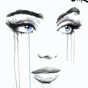 (CreativeWork) WINFALL by loui jover. drawing. Shop online at Bluethumb.