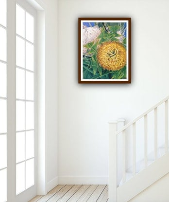 (CreativeWork)  Come A Little Bit Closer - Banksia baxteri - LIMITED EDITION GICLEE PRINT Ed. 3 of 100 by HSIN LIN. Print. Shop online at Bluethumb.