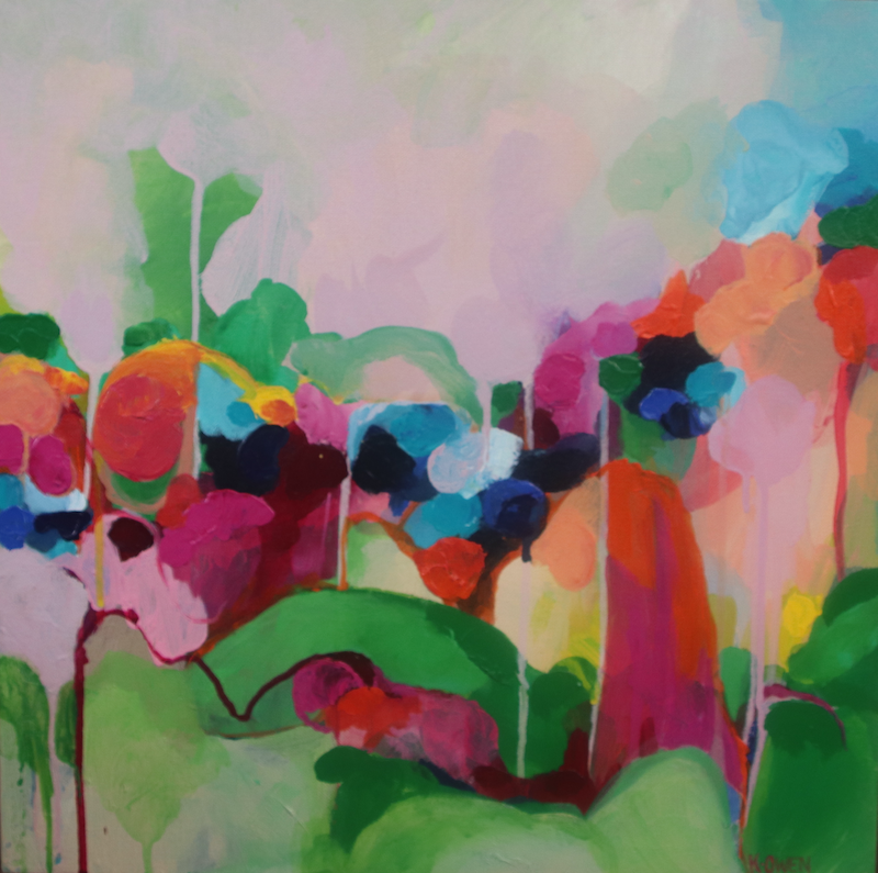 (CreativeWork) Colourscape Falls Print Ed. 3 of 25 by Kate Owen. Print. Shop online at Bluethumb.