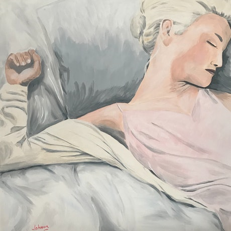 (CreativeWork) At rest  by Johanna Fry. Acrylic Paint. Shop online at Bluethumb.