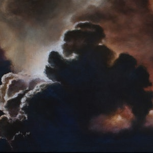 (CreativeWork) Inner Light by Kirsten Sivyer. oil-painting. Shop online at Bluethumb.