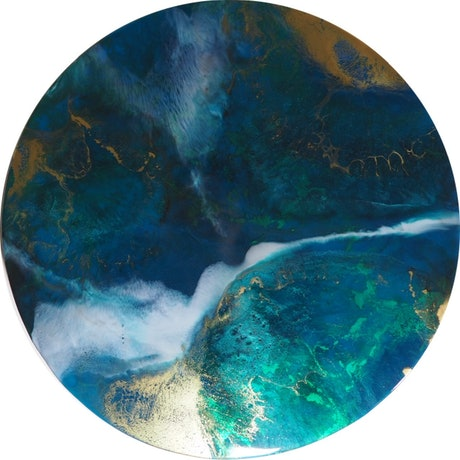 (CreativeWork) Saint Crispin Reef 2319 by Heath Johnson. Resin. Shop online at Bluethumb.