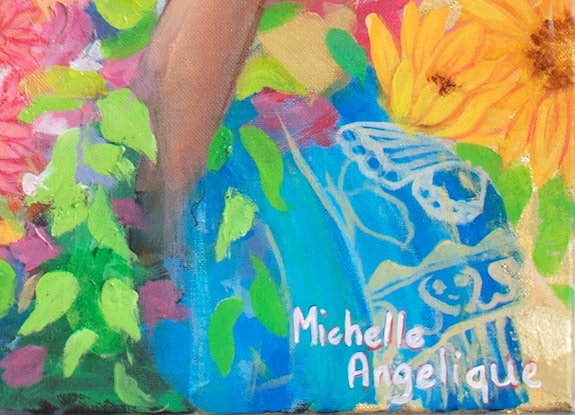 (CreativeWork) Panagbenga: the flower festival by Michelle Angelique. Mixed Media. Shop online at Bluethumb.