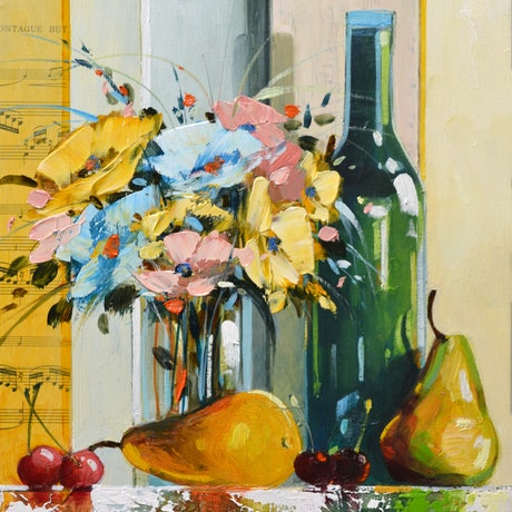 (CreativeWork) At The End Of The Day by Judith Dalozzo. Oil Paint. Shop online at Bluethumb.