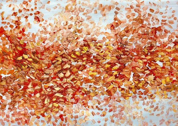 (CreativeWork) Autumn Whispers by Theo Papathomas. #<Filter:0x00007f482c8caa20>. Shop online at Bluethumb.