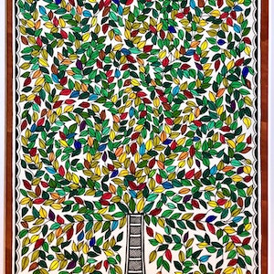 (CreativeWork) Kalpvriksha- The Tree Of Life 2 by Pratibha Madan. drawing. Shop online at Bluethumb.