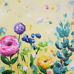 (CreativeWork) Today is Your Day by Tanya Keenan. arcylic-painting. Shop online at Bluethumb.