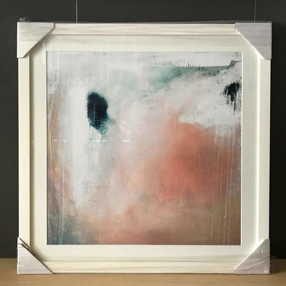 (CreativeWork) Dreamy - Framed Print, ready to hang by Katarina Lim. Acrylic Paint. Shop online at Bluethumb.