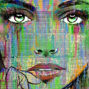 (CreativeWork) SO DEEP IS THE NIGHT by loui jover. mixed-media. Shop online at Bluethumb.