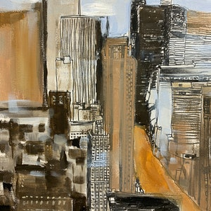 (CreativeWork) CITY ASPECTS by Hiromi Andrew. mixed-media. Shop online at Bluethumb.