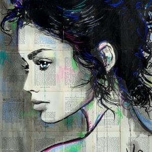 (CreativeWork) ANOTHER LOOK BY KAI by loui jover. drawing. Shop online at Bluethumb.