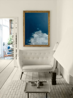 (CreativeWork) Cloud one by Donna Christie. Oil Paint. Shop online at Bluethumb.