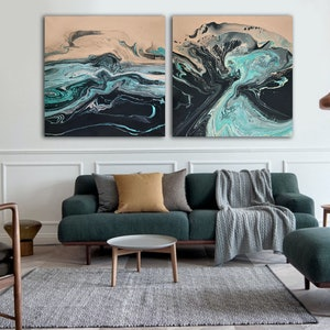 (CreativeWork) Maelstrom by Brigitte Ackland. acrylic-painting. Shop online at Bluethumb.