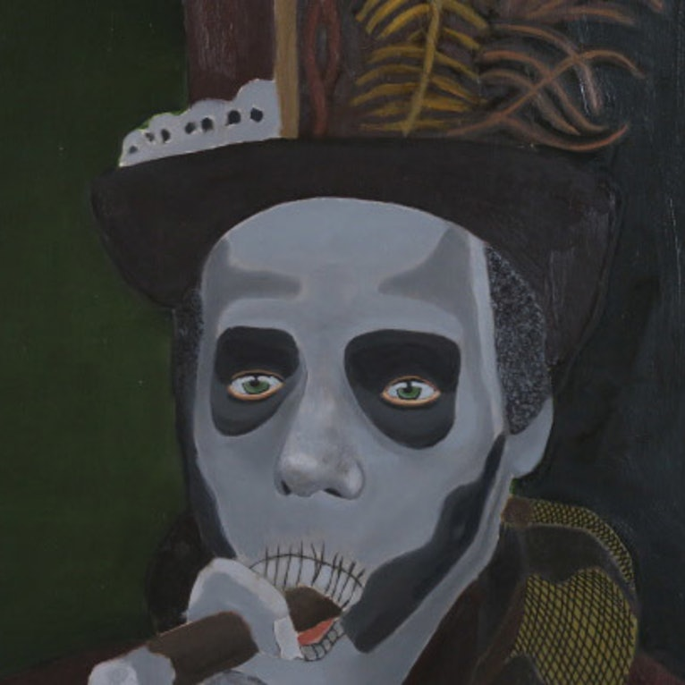 Voodoo Priest by Tony E Perks  Paintings for Sale  Bluethumb