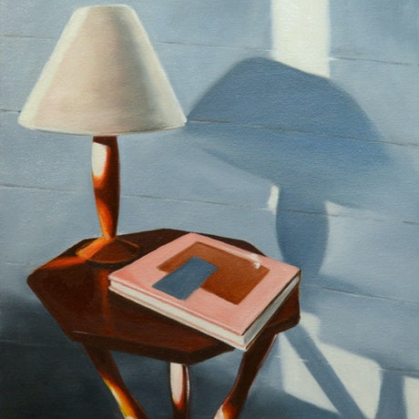 (CreativeWork) Bedside table by maria radun. Oil Paint. Shop online at Bluethumb.