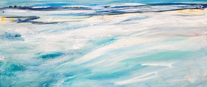 (CreativeWork) Ocean Breeze by Tania Chanter. arcylic-painting. Shop online at Bluethumb.