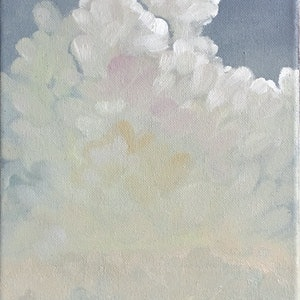 (CreativeWork) sky one by Donna Christie. oil-painting. Shop online at Bluethumb.