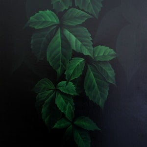 (CreativeWork) Secret Garden by Bec Bartell. arcylic-painting. Shop online at Bluethumb.