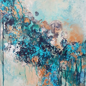 (CreativeWork) Intuition by Emily Lauro. acrylic-painting. Shop online at Bluethumb.