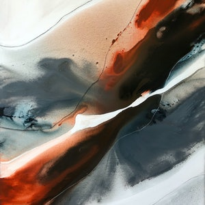 (CreativeWork) Evening Tide 2  by Dinah Wakefield. arcylic-painting. Shop online at Bluethumb.