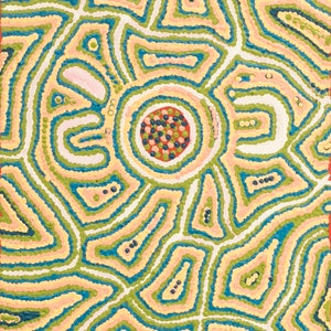 (CreativeWork) Kalipinypa Tjukurrpa - 74-19 by Alice Napangardi Poulson. arcylic-painting. Shop online at Bluethumb.