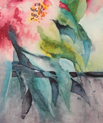 (CreativeWork) Thinking of You by Jude Scott. Watercolour Paint. Shop online at Bluethumb.