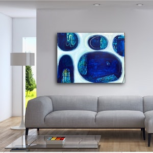(CreativeWork) Through into the Blue by Alison Pilcher. #<Filter:0x00005572c0247f88>. Shop online at Bluethumb.