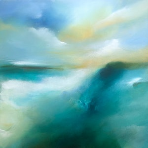 (CreativeWork) Apollo Bay Part II by Joanne Duffy. arcylic-painting. Shop online at Bluethumb.