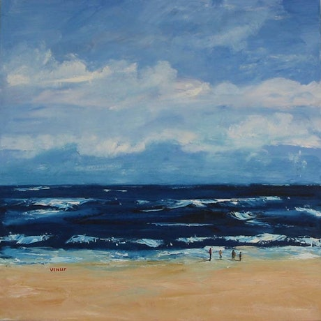 (CreativeWork) Majestic Ocean by venur gorloff. Oil Paint. Shop online at Bluethumb.
