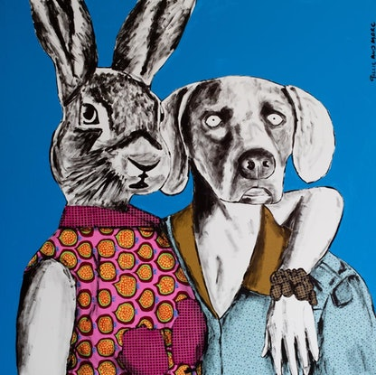 (CreativeWork) They were Fashion by Gillie and Marc Schattner. Print. Shop online at Bluethumb.