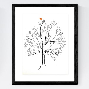 (CreativeWork) Australis Map Tree 2 by Chris Cox. arcylic-painting. Shop online at Bluethumb.