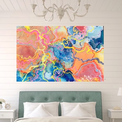 (CreativeWork) Malibu by Trudy Lowndes. Resin. Shop online at Bluethumb.