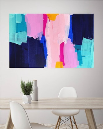 (CreativeWork) A Change Is As Good As A Holiday by Maggi McDonald. Acrylic Paint. Shop online at Bluethumb.