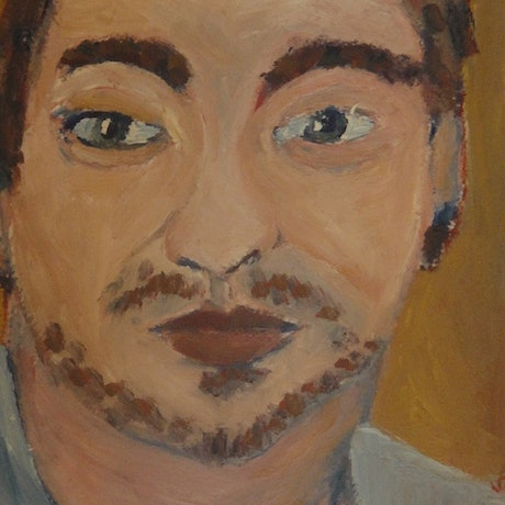 """(CreativeWork) """"Tom"""" (mfl 58 of 230)  by elij foote. Oil Paint. Shop online at Bluethumb."""