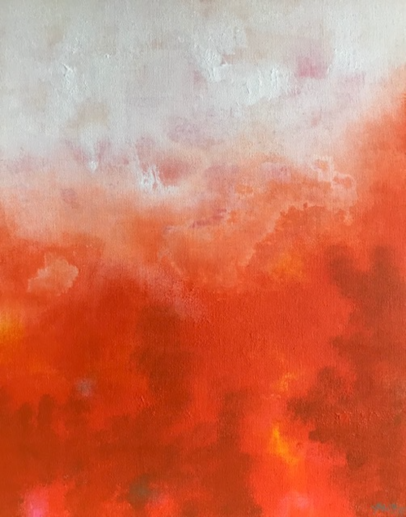 (CreativeWork) Heat and Dust by Yvette Swan. Mixed Media. Shop online at Bluethumb.