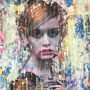 (CreativeWork) Remember Me by Cold Ghost. mixed-media. Shop online at Bluethumb.