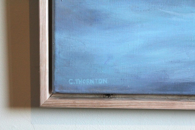 (CreativeWork) The Voyage (Framed) by Casey Thornton. Oil Paint. Shop online at Bluethumb.