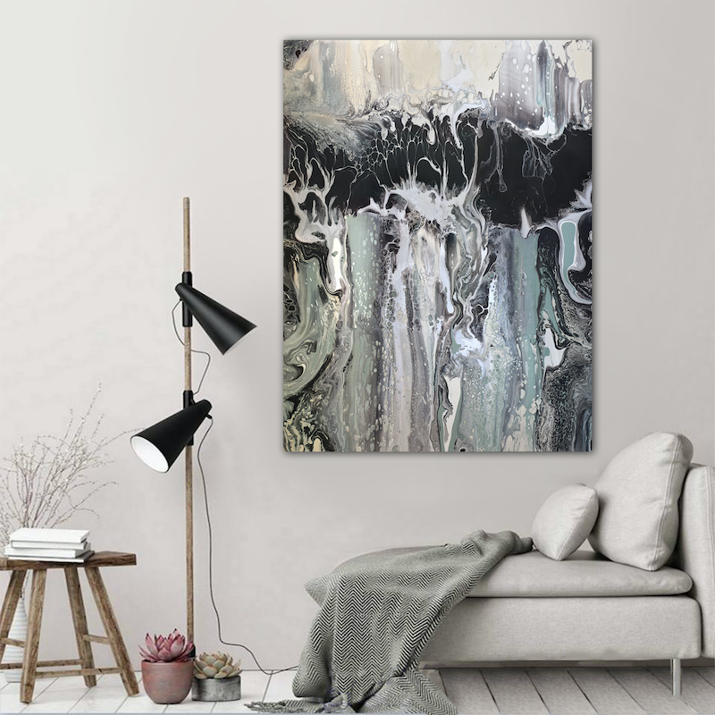 (CreativeWork) Morpheus by Brigitte Ackland. arcylic-painting. Shop online at Bluethumb.