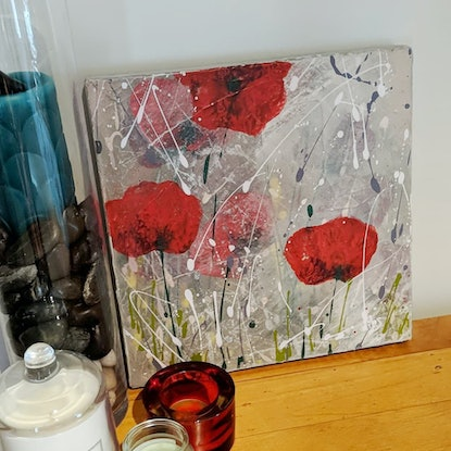 (CreativeWork) HONOUR - POPPIES by Nicky (Nibs) Courtman. #<Filter:0x00007f734fa1fa80>. Shop online at Bluethumb.