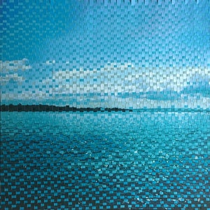 (CreativeWork) Moreton Bay Morning by Jennifer Bell. mixed-media. Shop online at Bluethumb.