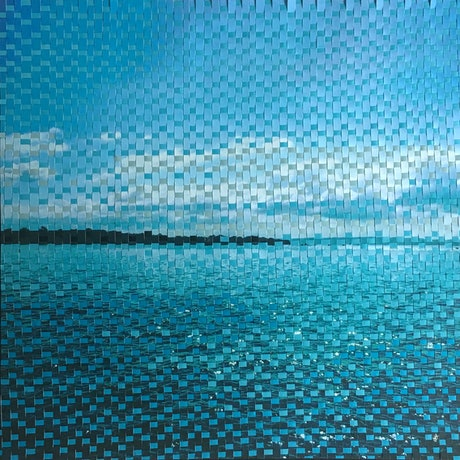 (CreativeWork) Moreton Bay Morning by Jennifer Bell. Mixed Media. Shop online at Bluethumb.