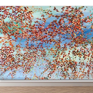 (CreativeWork) Symphony of Petals  by Theo Papathomas. oil-painting. Shop online at Bluethumb.
