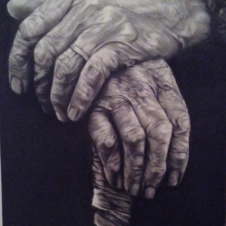 (CreativeWork) Ravages of Time by Maggie Hawthorne. Drawings. Shop online at Bluethumb.