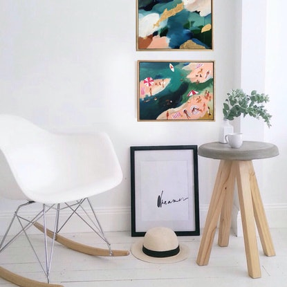 (CreativeWork) Relaxing Days At The Inlet by Marnie McKnight. #<Filter:0x00007fc1d8bc9e08>. Shop online at Bluethumb.