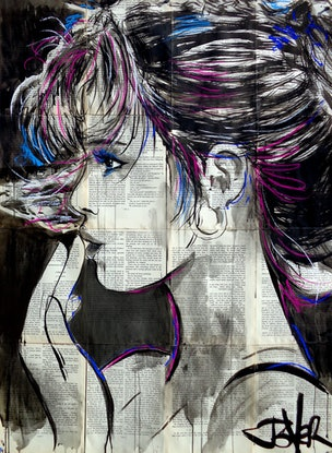 (CreativeWork) WEAVE by loui jover. #<Filter:0x0000558dbd9ca630>. Shop online at Bluethumb.